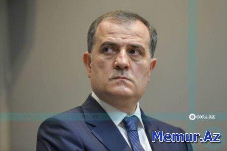 Ceyhun Bayramov Serbiyaya gedib